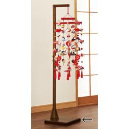 つるし飾り専用台 使用イメージ ※お届けはつるし飾り専用台のみです。