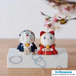 ドラえもん&ドラミちゃん人形 写真