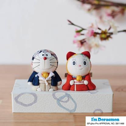 ドラえもん&ドラミちゃん人形