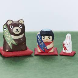 はりこーシカ 金熊 大きな熊から金太郎、うさぎが次々に登場!
