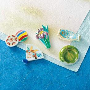 清水焼 端午の節句箸置きセット 写真