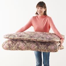 軽くてしっかり!!フランス羊毛混3つ折り敷布団