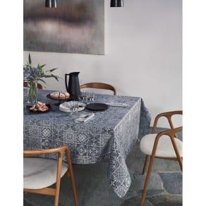 約150×150cm(はっ水加工テーブルクロス リスボン) 写真