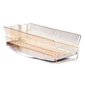 hanauta ハナウタ 皿を縦にも横にも置ける水切り ロング ピンクゴールド 写真