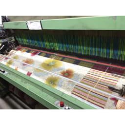 イタリア製ソファカバー〈アネモネ〉 工場の様子