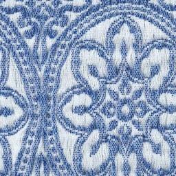 スペイン製ソファカバー〈タイル〉アームなし [素材アップ](ア)ブルー