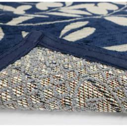 イタリア製ジャカード織マット〈モサイコ〉 裏面には滑りにくい加工が施してあります。
