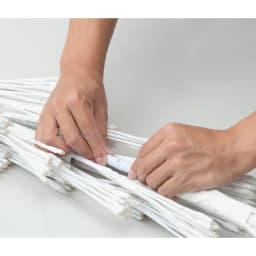 屋内外兼用 LEDツリー(奥行25cm) 土台と本体は簡単な組立で結合。