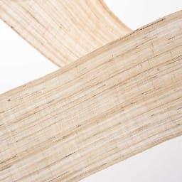 〈京都洛柿庵〉細タペストリー 春の花 ※2点以上5%オフ 伝統技法による手染め。ナチュラルな風合いの手機織麻生地に、ていねいに染色しました。