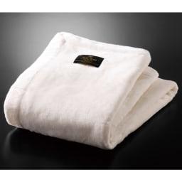シルクオーラ匠PREMIUM掛け毛布 (ア)ピュアホワイト