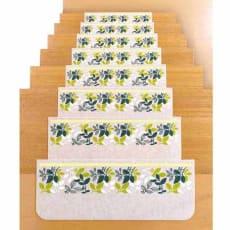 足元見やすい階段マット15枚組
