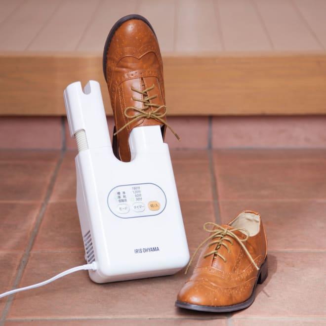 新 コンパクト靴乾燥機