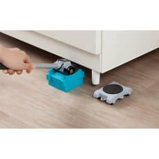 新重い家具も簡単に動かせるリフターセット