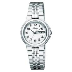 〈リビエール〉ソーラーエレガント腕時計