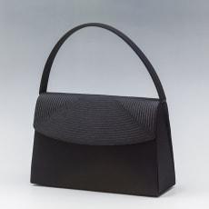 〈岩佐〉組紐刺繍タッセルハンドバッグ