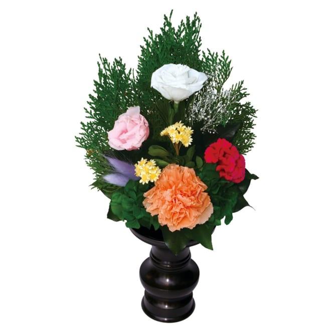 プリザーブドフラワー 仏花 響 ※花立ては別売りです。