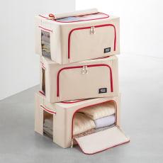 ワイヤー入り収納ボックス3個組