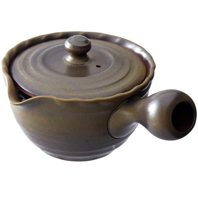 常滑焼 九十九急須 金属の茶こし網を使わないので、自然なお茶の風味が楽しめます。