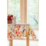 約150×150cm スペイン製花柄テーブルクロス 写真