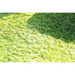 人工芝 UVカットを施した素材で、日光による変色が少ないのが嬉しい