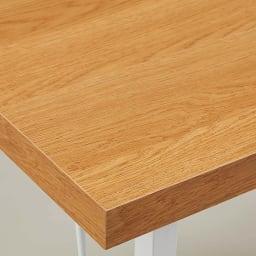 サイズが選べる スチール製コーナーデスク2台セット(幅90cm+幅150cm) 天板カラー:(イ)ナチュラル 温かみある木目の色味です。