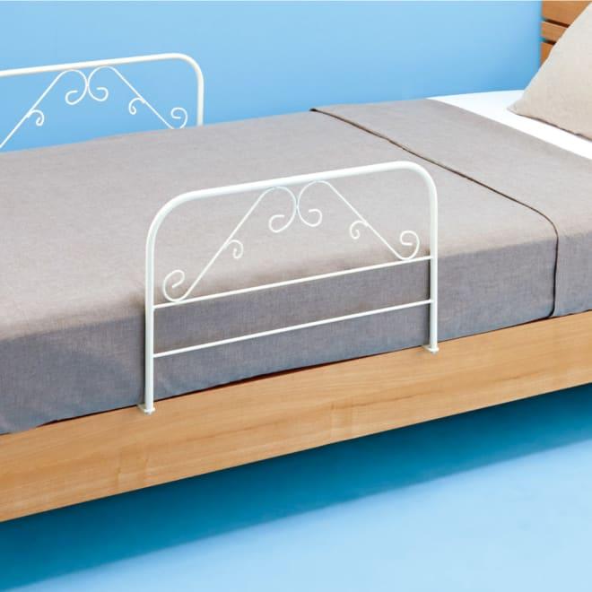 日本製 ベッドガード2個組 日本製ベッドガード