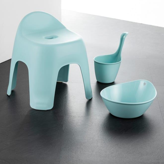 風呂椅子&おけ 3点セット