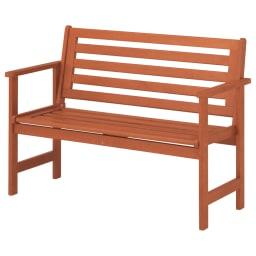 スタンダードガーデンファニチャー 4点セット(テーブル+チェア1脚×2+ベンチ) ≪ベンチ≫