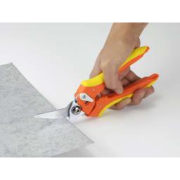 よく切れ~る!万能はさみ 1ミリ厚のアルミ板も切れる!
