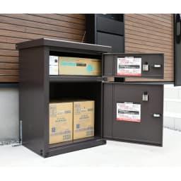 宅配収納BOX 2BOX P-BOX ピーボ 収納例