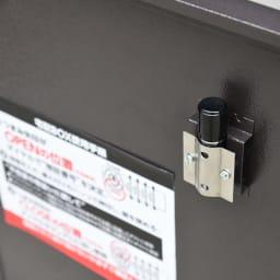 宅配収納BOX 2BOX P-BOX ピーボ 印鑑フォルダ付き。