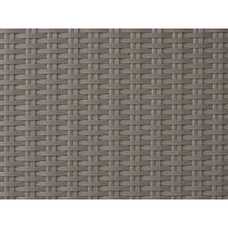 庭座 シンプルチェア2脚組 (ウ)ウォームグレー
