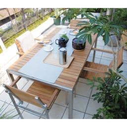 ライズ テーブル900 コーディネート例