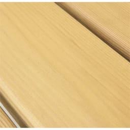 サーモウッドテーブルセット 特殊高温処理を施し含水率を下げ、耐久性に優れた天然木。