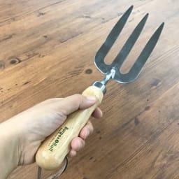 Burgon&Ball(バーゴン&ボール)ステンレスハンドフォーク RHS Stainless Hand Fork