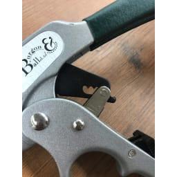 Burgon&Ball(バーゴン&ボール)ラチェットプルーナー(枝用園芸ハサミ) RHS Ratchet Pruner 切る枝の太さに応じて3段階のラチェット機能