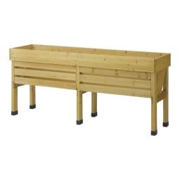 木製菜園プランター ベジトラグ L 背面イメージ ※お届けの色・サイズとは異なります。