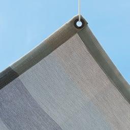 イチオリシェード ボーダー 175×200cm ざっくりとした織り目で風が通る生地。