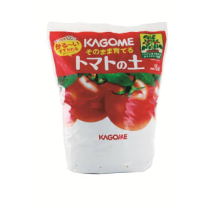 KAGOME そのまま育てるトマトの土 15L   写真