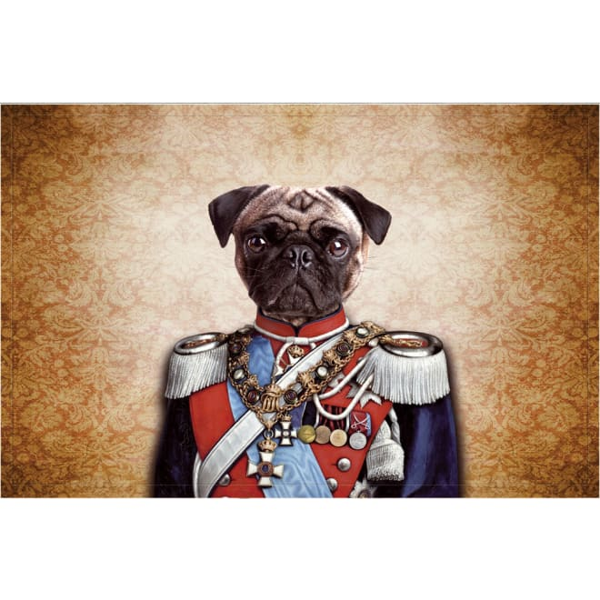 ドイツ製玄関マット 犬の王様