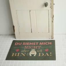 ドイツ製玄関マット イヌ「BINDA」