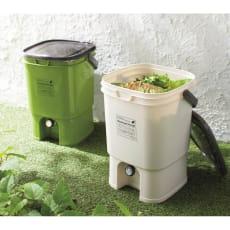 ボカシ肥料付生ごみコンポスト