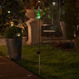 ソーラースティック ディズニー3種セット(ミッキーマウス・ミニーマウス・ティンカーベル) 点灯時
