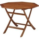 折りたたみ八角形テーブル&チェア 八角形テーブル単品 写真