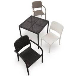 庭座 スクエアテーブル720 ※お届けはテーブルです。