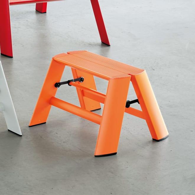 METAPHYS/メタフィス アルミステップ ルカーノ コンパクト オレンジ