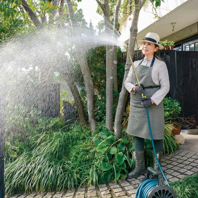 職人手作り柔らかな水の真鍮ノズル 長さ64cm