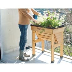 木製菜園プランター ベジトラグ コンパクトミニ 写真