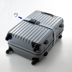 SNOOPY(スヌーピー)/ワンタッチスーツケースベルト(ワンタッチで簡単)|PEANUTS