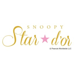 SNOOPY(スヌーピー)/star★d'or Wishing star K10YG フレンドリーペンダント|PEANUTS ブランドロゴ